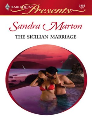 cover image of The Sicilian Marriage