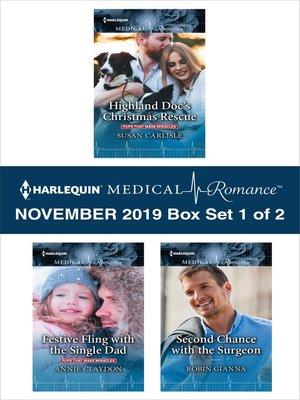 cover image of Harlequin Medical Romance November 2019--Box Set 1 of 2