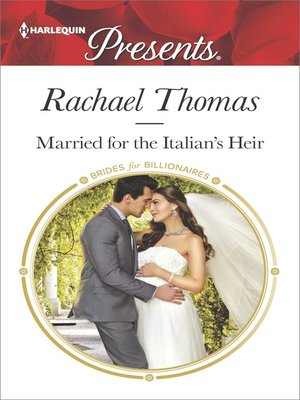 cover image of Married for the Italian's Heir