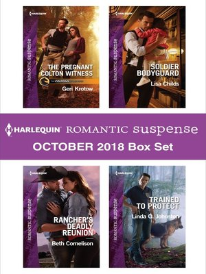 cover image of Harlequin Romantic Suspense October 2018 Box Set