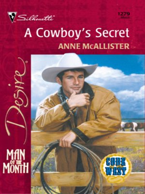 cover image of A Cowboy's Secret