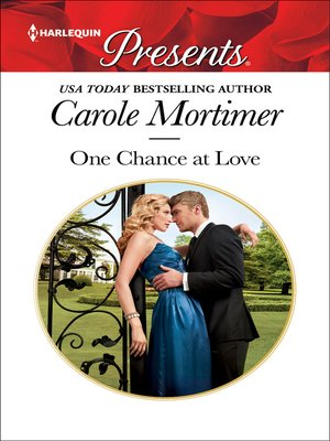 cover image of One Chance at Love