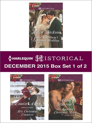 cover image of Harlequin Historical December 2015, Box Set 1 of 2