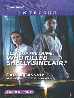 cover image of Scene of the Crime: Who Killed Shelly Sinclair?