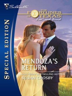 cover image of Mendoza's Return