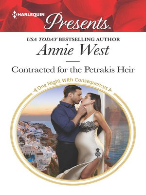 cover image of Contracted for the Petrakis Heir