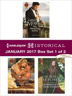 cover image of Harlequin Historical January 2017--Box Set 1 of 2