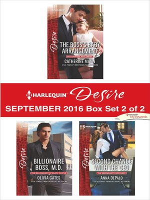 cover image of Harlequin Desire September 2016, Box Set 2 of 2