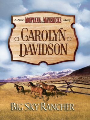 cover image of Big Sky Rancher