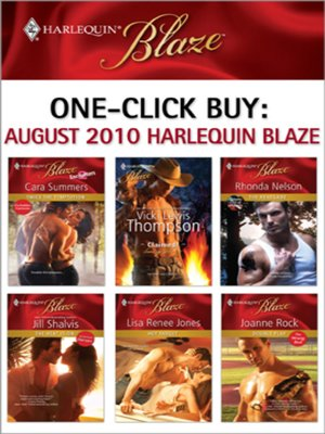 cover image of August 2010 Harlequin Blaze