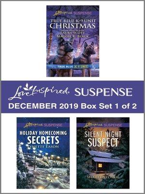cover image of Harlequin Love Inspired Suspense December 2019--Box Set 1 of 2