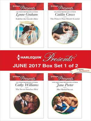 cover image of Harlequin Presents June 2017, Box Set 1 of 2