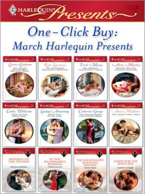cover image of One-Click Buy: March Harlequin Presents