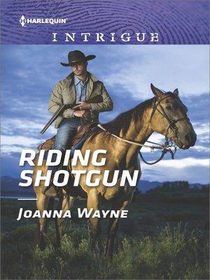 cover image of Riding Shotgun