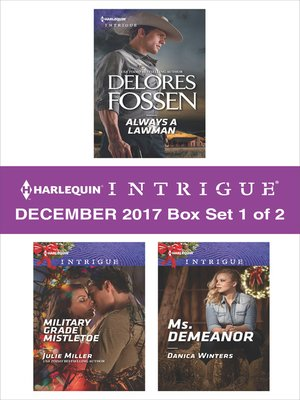 cover image of Harlequin Intrigue December 2017--Box Set 1 of 2