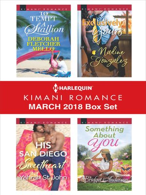 cover image of Harlequin Kimani Romance March 2018 Box Set
