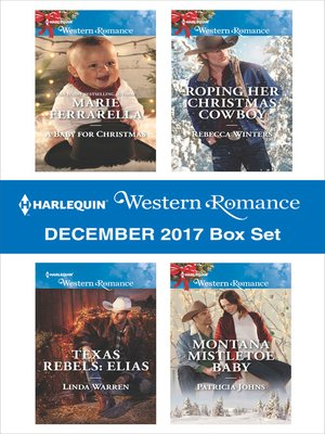 cover image of Harlequin Western Romance December 2017 Box Set