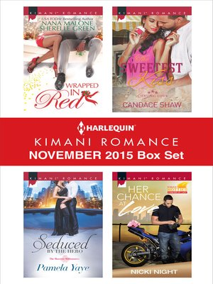 cover image of Harlequin Kimani Romance November 2015 Box Set