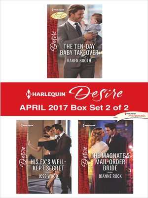 cover image of Harlequin Desire April 2017, Box Set 2 of 2