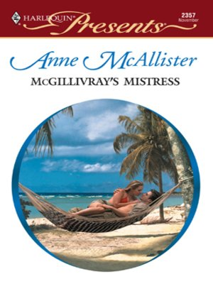 cover image of McGillivray's Mistress