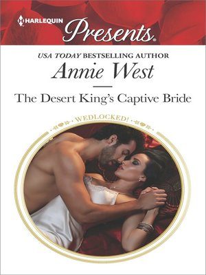cover image of The Desert King's Captive Bride