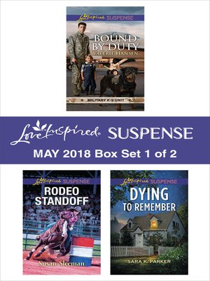 cover image of Harlequin Love Inspired Suspense May 2018--Box Set 1 of 2