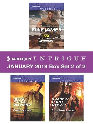 cover image of Harlequin Intrigue January 2019, Box Set 2 of 2
