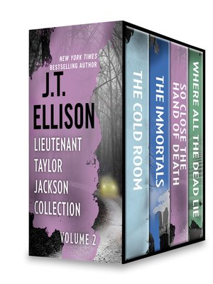 cover image of Lieutenant Taylor Jackson Collection, Volume 2