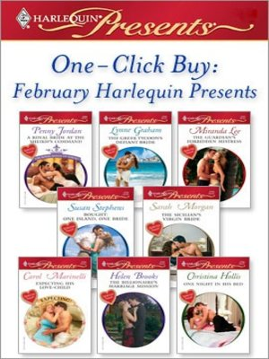 cover image of February Harlequin Presents