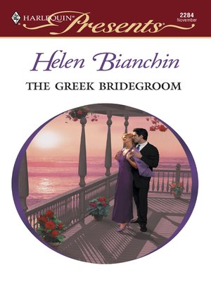cover image of Greek Bridegroom