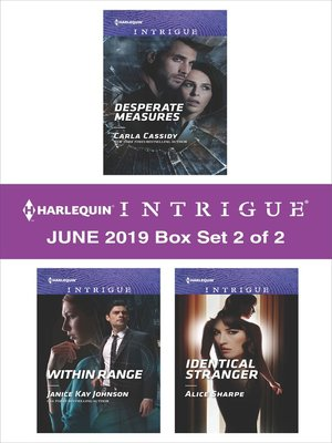cover image of Harlequin Intrigue June 2019, Box Set 2 of 2