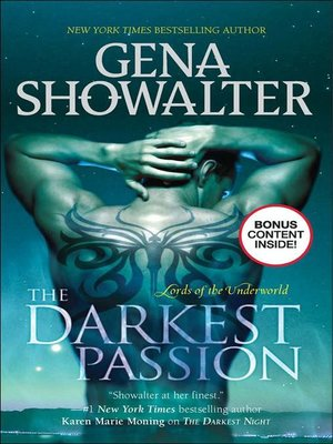 cover image of The Darkest Passion