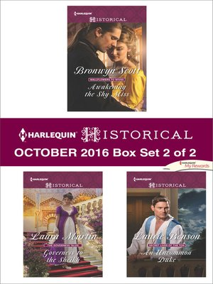 cover image of Harlequin Historical October 2016, Box Set 2 of 2