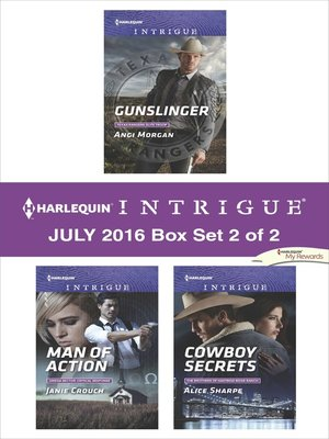 cover image of Harlequin Intrigue July 2016, Box Set 2 of 2
