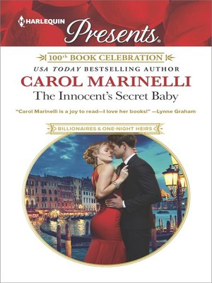 cover image of The Innocent's Secret Baby--A Secret Baby Romance