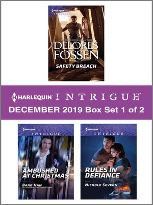 cover image of Harlequin Intrigue December 2019--Box Set 1 of 2