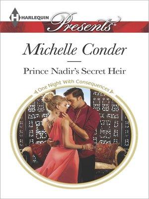 cover image of Prince Nadir's Secret Heir