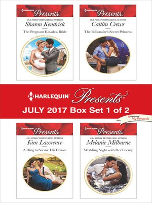 cover image of Harlequin Presents July 2017, Box Set 1 of 2