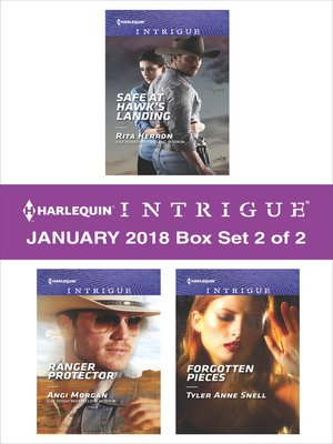 cover image of Harlequin Intrigue January 2018--Box Set 2 of 2