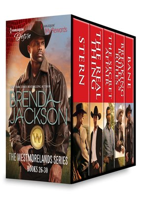 cover image of Westmorelands Series, Books 26-30