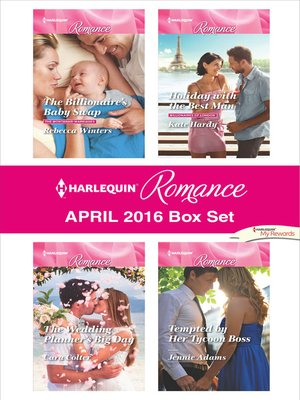 cover image of Harlequin Romance April 2016 Box Set