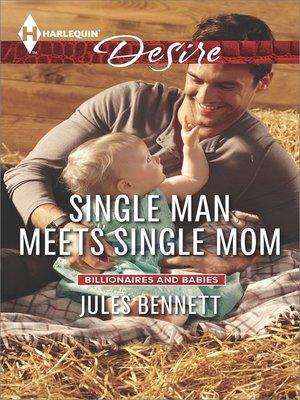 cover image of Single Man Meets Single Mom