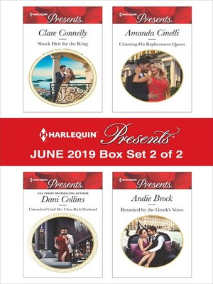 cover image of Harlequin Presents: June 2019, Box Set 2 of 2