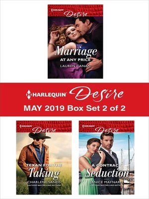 cover image of Harlequin Desire May 2019--Box Set 2 of 2