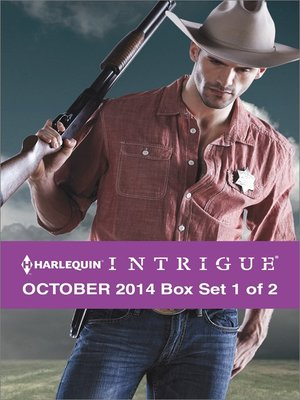 cover image of Harlequin Intrigue October 2014 - Box Set 1 of 2: Cowboy Behind the Badge\The Hill\Christmas at Thunder Horse Ranch