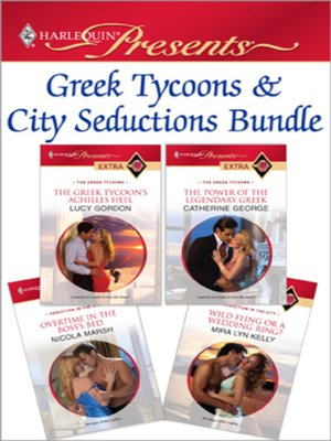 cover image of Greek Tycoons & City Seductions Bundle