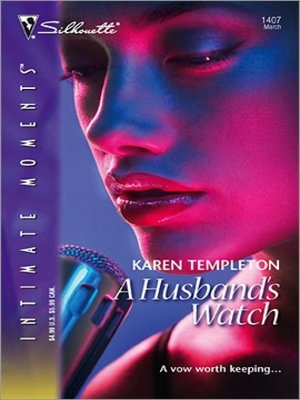 cover image of A Husband's Watch