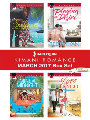 cover image of Harlequin Kimani Romance March 2017 Box Set