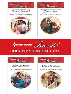 cover image of Harlequin Presents: July 2019: Box Set 1 of 2