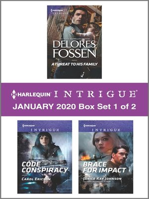 cover image of Harlequin Intrigue January 2020--Box Set 1 of 2